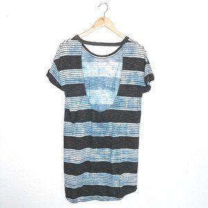 RVCA Low Back Striped Dress